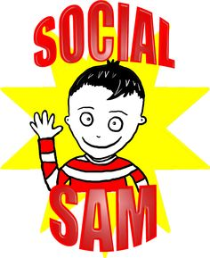 Pelican Talk helps Children with Autism - FREE TIPSHEETS    SOCIAL SAM  explores social routines and the thoughts and speech that underpin them.