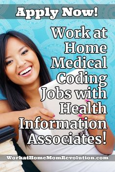 Health Information Associates is hiring home-based medical coders in the U. These work at home medical coding jobs appear to be full-time opportunities. Medical Coder, Medical Billing And Coding, Finance Jobs, Acute Care, Job Posting, Continuing Education, Work From Home Moms, How To Make Money, Boss