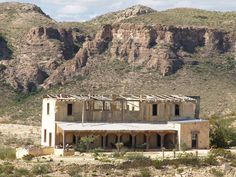 Terlingua Texas Ghost Town small old mining town in the Chihuahuan ...