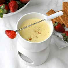 Eggnog Fondue by The Way to His Heart