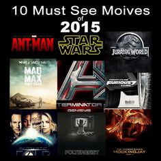 10 Must See Movies of 2015 ~ Mindlock.me - An openminded look