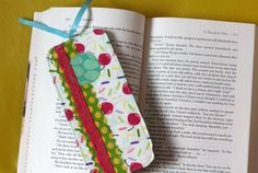 Scrappy Fabric Bookmark- Created by Vanessa Wilson. To learn more about the features and capabilities of ScanNCut by Brother™, visit www.ScanNCut.com.