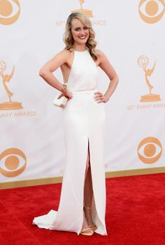 Taylor Schilling | Fashion At The 2013 Emmy Awards found it :) this is amazing well done taylor