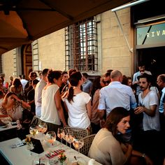 Rivalta - Lungarno Corsini 12/14 R, Firenze, Italy - Not far from Florence's Ferragamo and Gucci headquarters, this new indoor-outdoor bar and restaurant along the Arno has become a go-to spot for the city's most fashionable, especially during aperitivo—the Italian post-work happy hour.