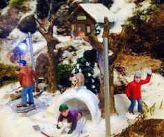 Detail Kerstdorp