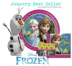 Our best seller of January 2014 is Disney's Frozen!