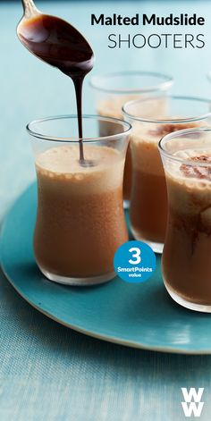 Enjoy happy hour AND dessert tonight. Tap to try out  this Malted Mudslide Shooter recipe for 3 SmartPoints.