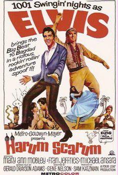 Harum Scarum    Elvis Movie #19  Metro-Goldwyn-Mayer | 1965