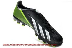 Cheap Adidas F10 TRX AG Black White Green