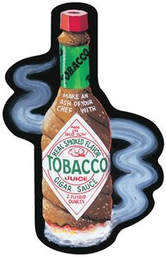 Tobacco Juice: Topps Wacky Packages Wall Graphics from WALLS 360. http://www.walls360.com/wackypackages