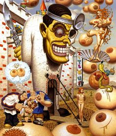 The Paintings of Todd Schorr