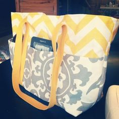 Finding North: DIY Tote/Diaper Bag by patricia.mckinney.520