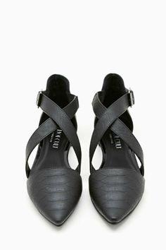 Shoe Cult Viper Flat
