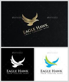 Eagle Hawk - Logo Template by BlackBoxCreativeIdea Eagle Hawk Logo Template luxury brand or for any project related to classic elegance. It is easy to use and can be resized witho