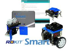 Rokit Smart is a user-friendly robotics kit that teaches building and programming (using Arduino) of robots without soldering