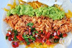 Shredded chicken for Burritos, Enchiladas, Tostadas or Tacos – Foodinspirer – recipe inspiration for all