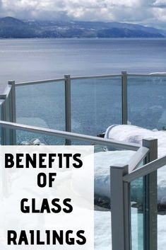 Glass railings are clean and crisp, offering an excellent option to customers who want architectural railings for safety but don't want to ruin a beautiful view. Glass railings are practical and offer a great way to create a sleek and modern look all while getting a number of great benefits. Let's take a look at them.
