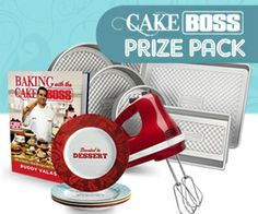 Cake Boss Prize Pack mysillylittlegang.com