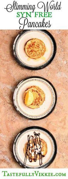 Syn Free Slimming World Oat Crepe Pancakes for Pancake Day - Tastefully Vikkie