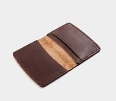 Hey, I found this really awesome Etsy listing at https://www.etsy.com/listing/503411524/etenna-leather-card-wallet-brown-thick