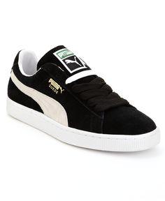 Puma Men 's Suede Classic Casual Sneakers von Schliff Line – Schwarz - Schuhe Sneakers Mode, Classic Sneakers, Best Sneakers, Nike Sneakers, Casual Sneakers, Sneakers Fashion, Running Sneakers, Sneakers Design, Work Sneakers