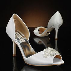 Salsa by Badgley Mischka Wedding Shoes at My Glass Slipper