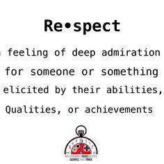 #NVRSTP #Respect