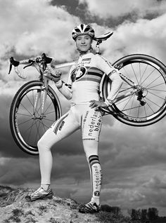 Marianne Vos-- the most dominant cyclist in the history of the sport.  Sorry, men.