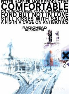 Radiohead OK Computer Huge Music Poster Posters at AllPosters.com