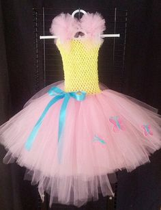 Hey, I found this really awesome Etsy listing at https://www.etsy.com/listing/192521077/my-little-pony-flutter-shy-tutu-dress