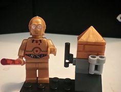 Custom Star Wars Minifigures Set of 8 Lego Size by CustumMiniFigz