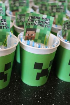 Minecraft party Theme Parties, Party Themes, Minecraft Party, Themed Parties