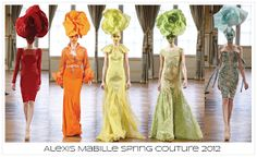 TheFashioniStyle: {live from the runway} Alexis Mabille Spring Couture 2012