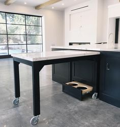 Pull Out Kitchen Table pull out table built in | for the home | pinterest | tiny houses