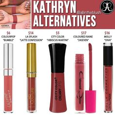 Dupes list for lip gloss