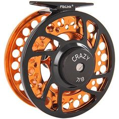 Fiblink Fly Fishing Reel with Large Arbor. 21 BB CNC Machined Aluminum Alloy Body and Spool in Fly Reel Sizes 56-78 #FlyFishingReels