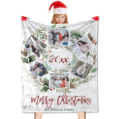✅A personalized blanket can be used as a blanket as well as a bed throw or sofa/settee throw. Great for Naptime, tummy time, using as a car seat blanket, or even for swaddling! ✅Our flannel blanket is machine washable (cold only); do not tumble dry, iron, bleach, or dry clean. ✅In addition to personal comfort, the premium blanket is also a great gift option for almost any occasion such as Halloween, Christmas, Birthday, Anniversary, etc. Settee Sofa, Halloween Christmas, Christmas Birthday, Car Seat Blanket, Johnson Family, Flannel Blanket, Photo Blanket, Personalized Christmas Gifts