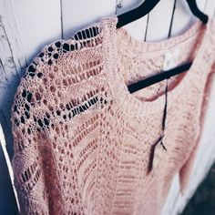 Blush Pink Crochet Top Blush Pink Crochet Top  Blush pink crochet top. New with tag, never worn! Perfect addition to your Spring wardrobe!    Similar style to Free People or American Eagle   Size: SMALL  PRISTINE condition! Pink Rose Tops Blouses