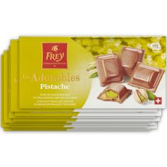 5,75 € - Les Adorables 'Pistache' 10x100g - 1 kg Tableware, Milky Bar Chocolate, Pistachios, Chocolate Candies, Foods, Dinnerware, Tablewares, Dishes, Place Settings