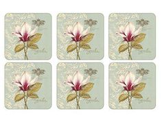 Pimpernel Vintage Toile Placemats Set of 4 - Placemats and Coasters - Collections - Pimpernel USA Shabby Cottage, Cottage Chic, Euro Sham Size, Slate Coasters, Cork Coasters, Dandelion Clock, Shops, Metal Birds, Creative Co Op