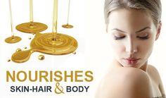 What Is Castor Oil, Castor Oil Uses, Castor Oil For Skin, Castor Oil Benefits, Organic Castor Oil, Oils For Skin, Organic Oil, Organic Skin Care, Natural Skin Care