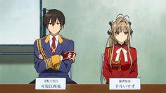Manager, Kanie Seiya! Secretary, Sento Isuzu!