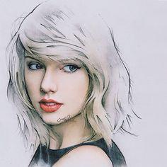 Beautiful portrait of Taylor Swift