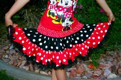disney skirt. I wonder if they make this for adults?? :)