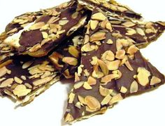 Black-and-White Chocolate-Covered   Matzo Buttercrunch