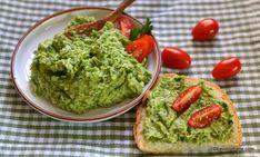 Cremă de avocado cu pătrunjel verde și usturoi - plină de vitamine și nutrienți. Rețeta rapidă (5 minute) de pastă de avocado de post sau