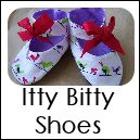 Itty Bitty Baby Shoes. Free Sewing Patterns Tutorials and Crafts for You DIY