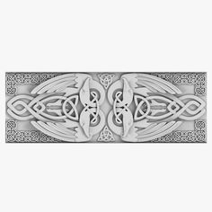 Celtic Ornament 03. This royalty free 3D model or texture is available for download now! Celtic Ornament 03  -  Archive contains Blender scene and H...