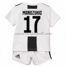 Billige Fotballdrakter Juventus Barn 2018-19 Mario Mandzukic 17 Hjemme Draktsett Fotball Kortermet Mario, Sports, Tops, Asylum, Hs Sports, Sport, Shell Tops