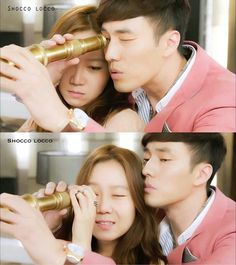 I love this scene, they were getting closer with one another and it was so sweet to watch  - The Master's Sun